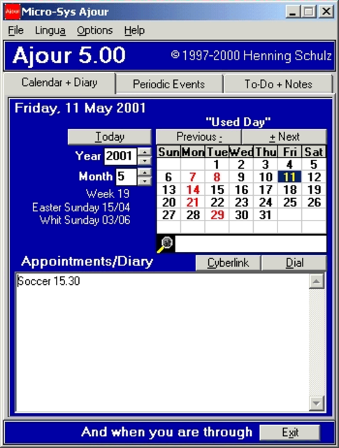 Ajour screenshot